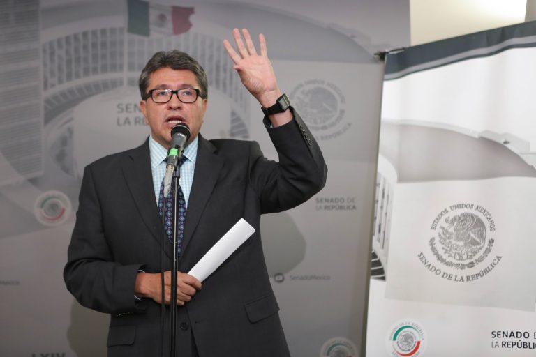 Senado, Morena, Bancos, AMLO, Monreal