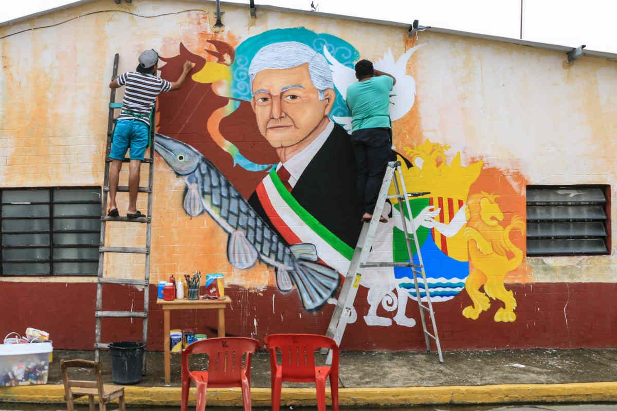 AMLO, López Obrador, 2018, México