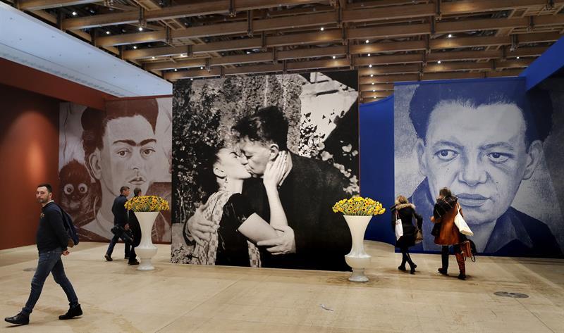 Exposición de Frida y Diego en Moscú/ Fotos: EF
