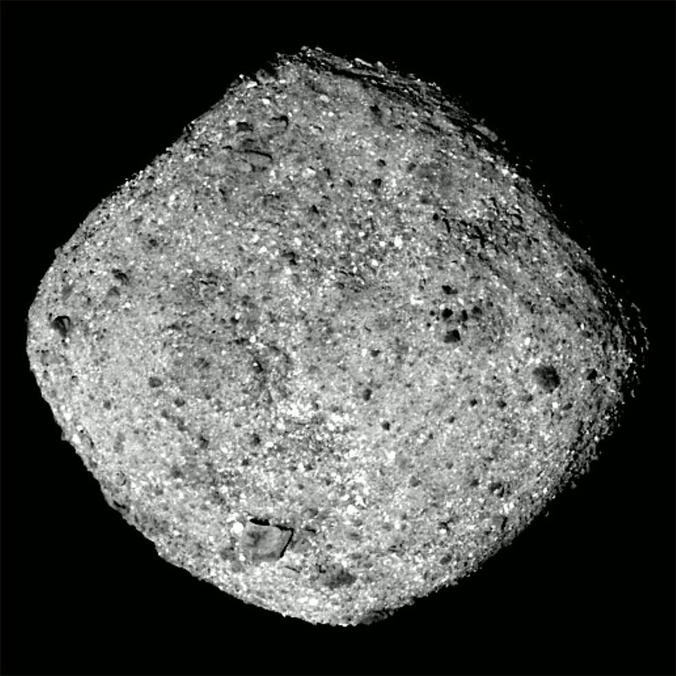 asteroide NASA Bennu espacio