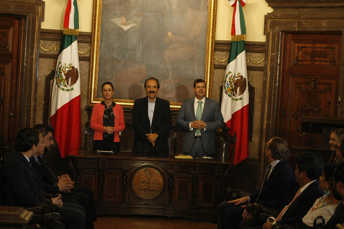 Cabildo, CDMX, Alcaldías, José Ramón Amieva Gálvez, Claudia Sheinbaum Pardo,
