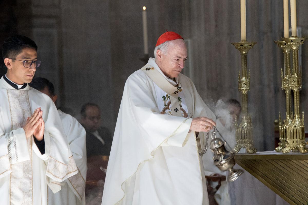 Navidad, homilía, Catedral Metropolitana, Cardenal , Carlos Aguar Retes,