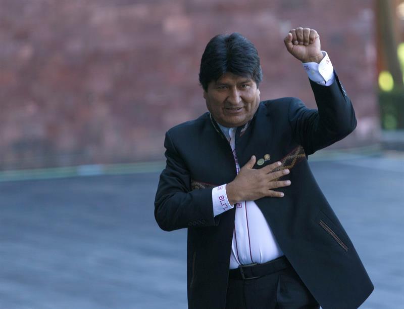 Evo Morales, AMLO, López Obrador, Toma de Posesión,