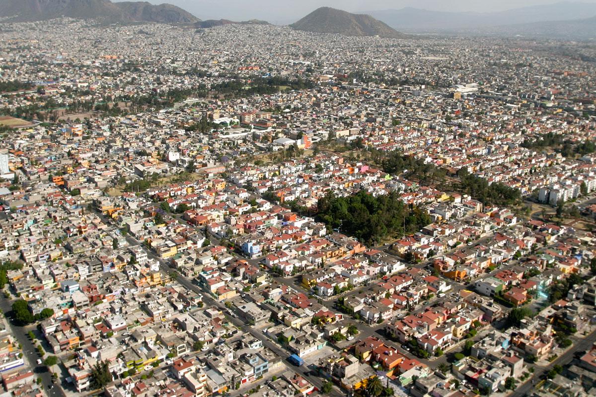 Mancha Urbana, UNAM, CDMX, sobrepoblación,