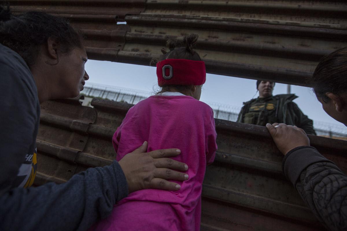 Migrantes, menores, frontera, Estados Unidos, Caravana Migrante,