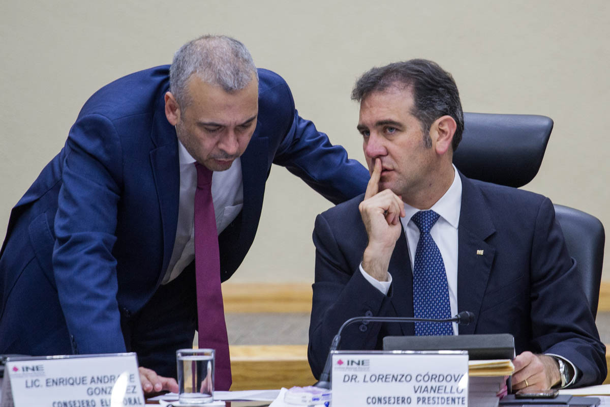 Benito Nacif, INE, salarios, Tribunal electoral,