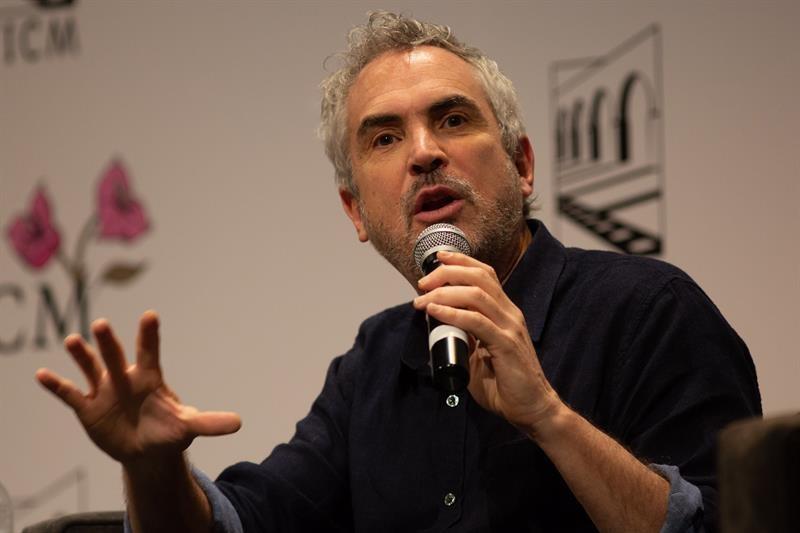 Alfonso Cuarón en el Festival de Cine de Morelia 2018