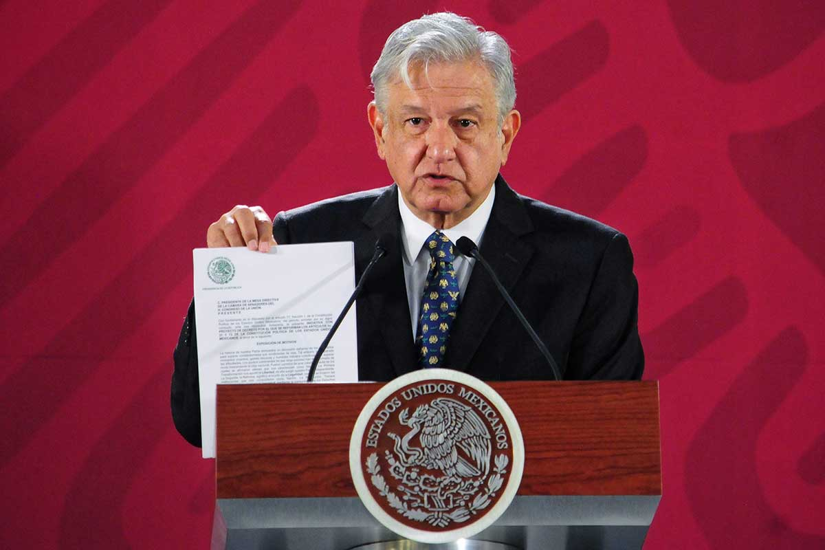 AMLo, Reforma Educativa