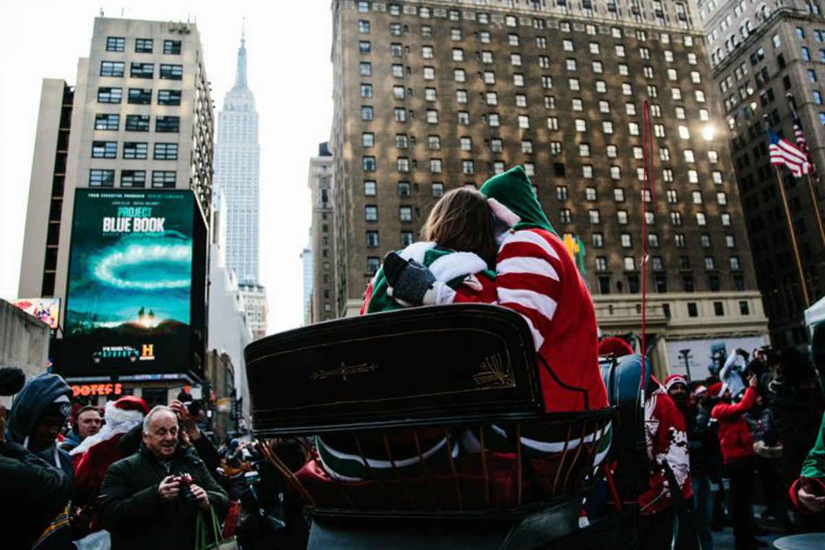Aspecto de Nueva York, cuando ven un freno económico (EFE)