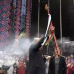 Bastón de mando, AMLO, López Obrador, Indígenas, Zócalo capitalino,