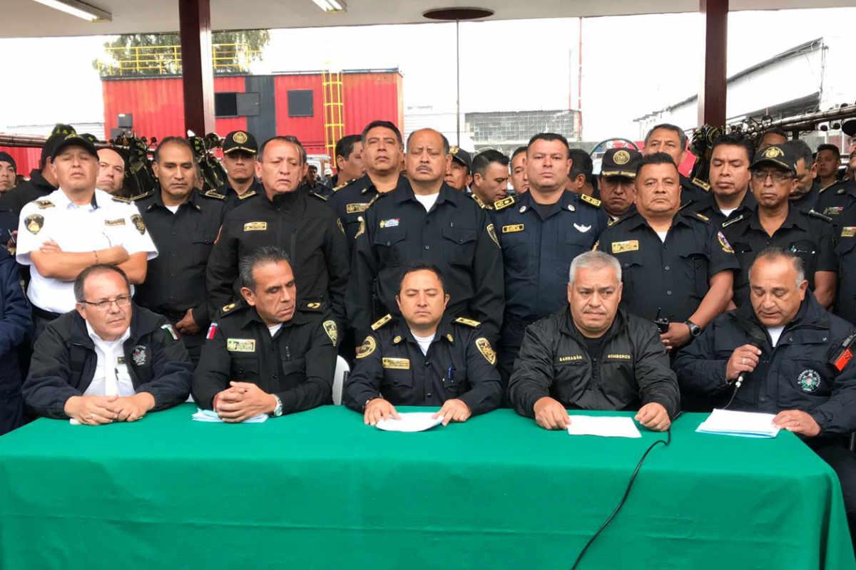 Bomberos están informes con sus nuevos jefes (Israel Lorenzana/Siete24)