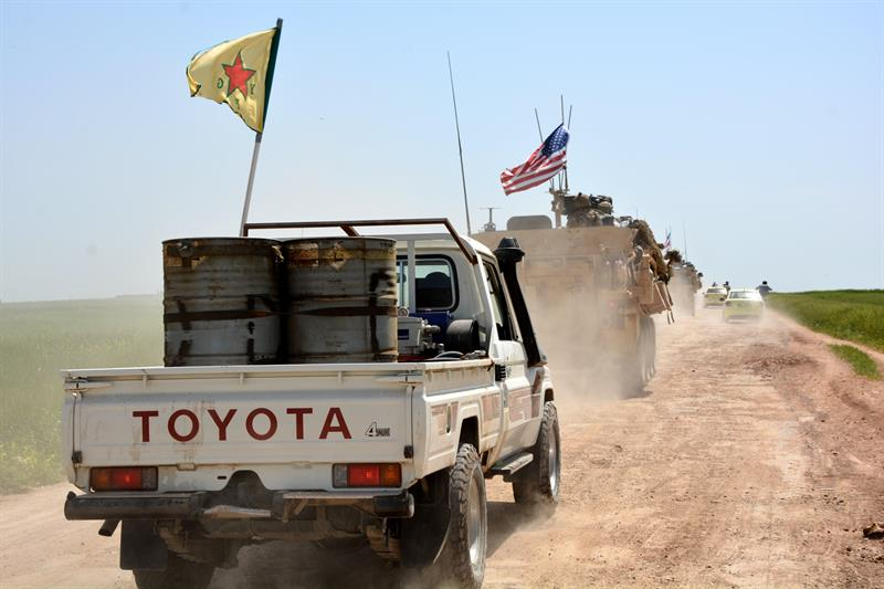 Siria, Ejército, Estados Unidos