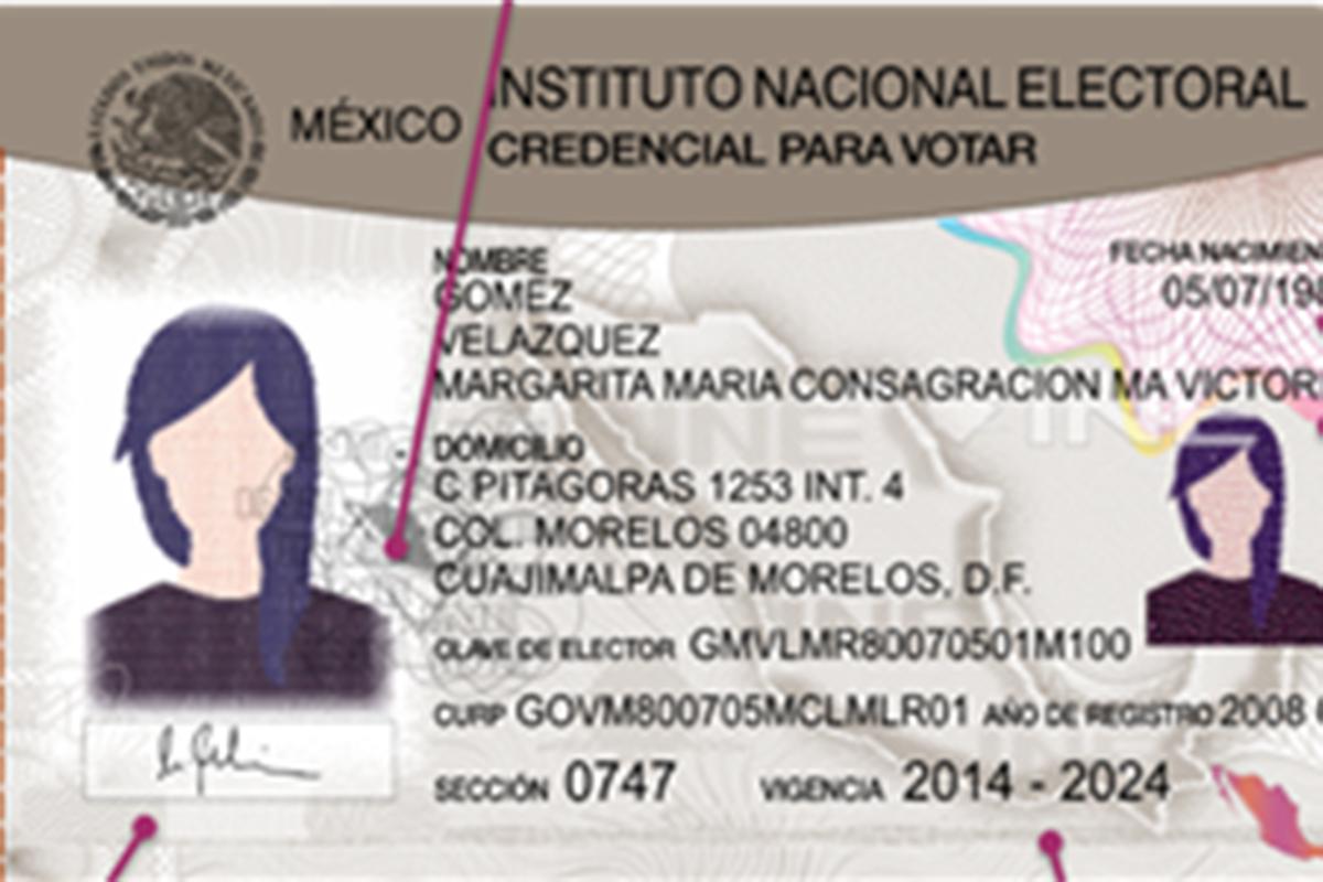 INE, credencial de elector, elecciones, Lorenzo Córdova,