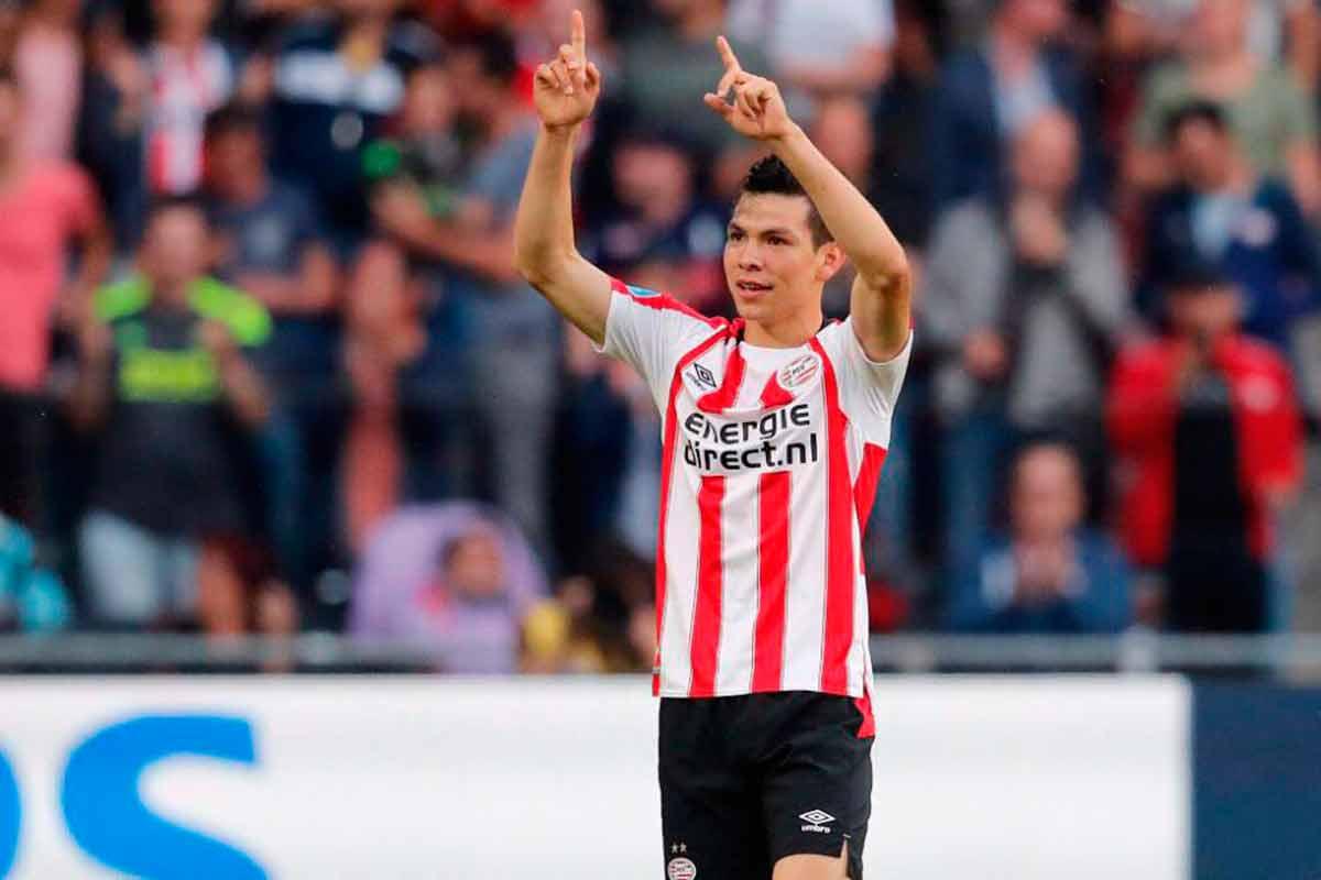 Lozano, Hirving Lozano, PSV