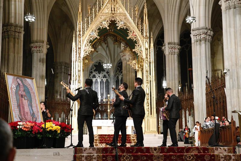 Mañanitas, Virgen de Guadalupe, Catedral de Nueva York, San Patricio, Juan Diego,