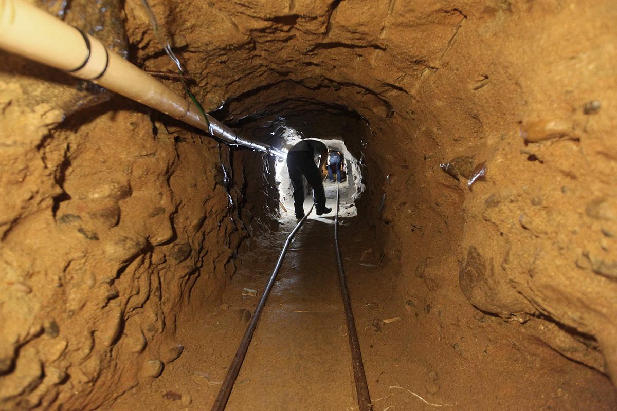 Túnel, Arizona, Nogales, construcción, Frontera, Estados Unidos,