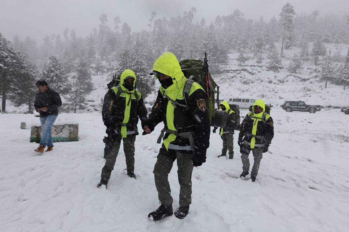 Nevado de Toluca, extraviado, Frío, nevadas, seguridad, Estado de México,