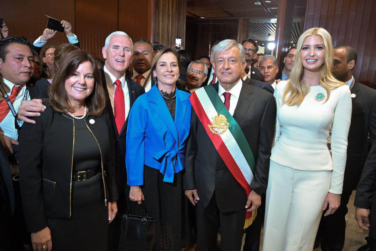 Ivanka, Maduro y Felipe VI, protagonistas en traspaso del poder en México