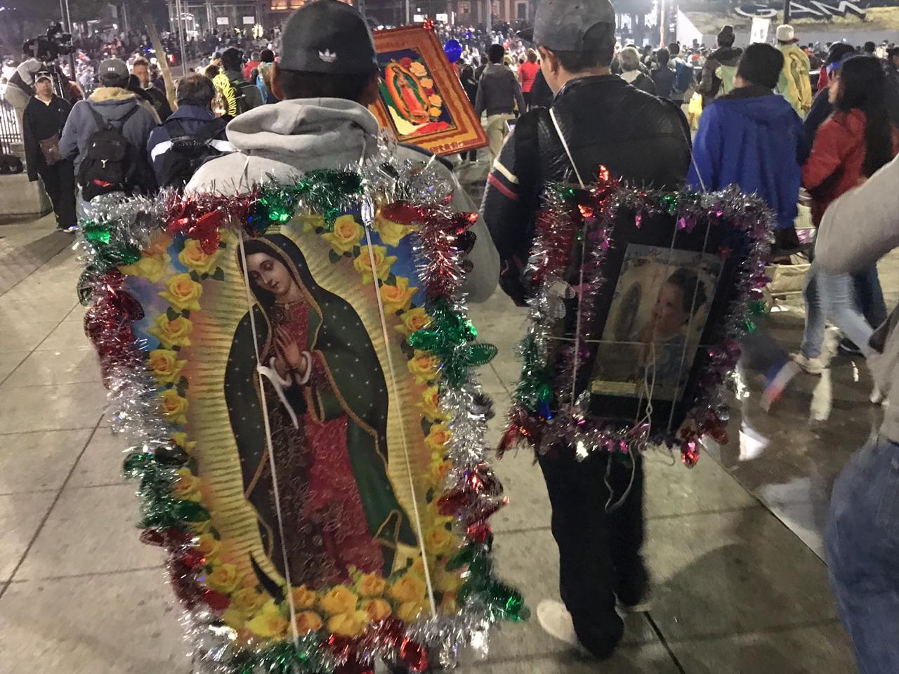 Basílica de Guadalupe, Virgen de Guadalupe, peregrinos, fieles católicos,