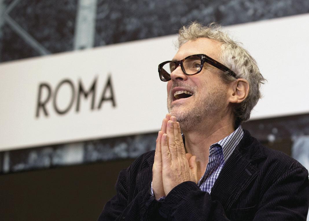 Roma Alfonso Cuarón rodaje