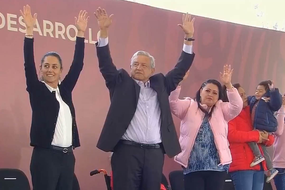 Iztapalapa, AMLO, Tandas para el Bienestar, STPS,