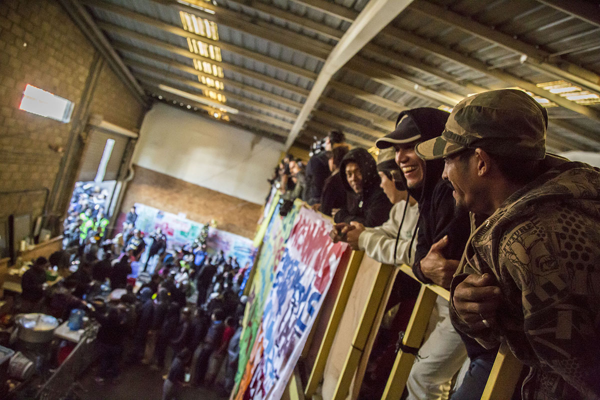 El Barretal, Tijuana, Migrantes, centroamericanos, Caravana Migrante,
