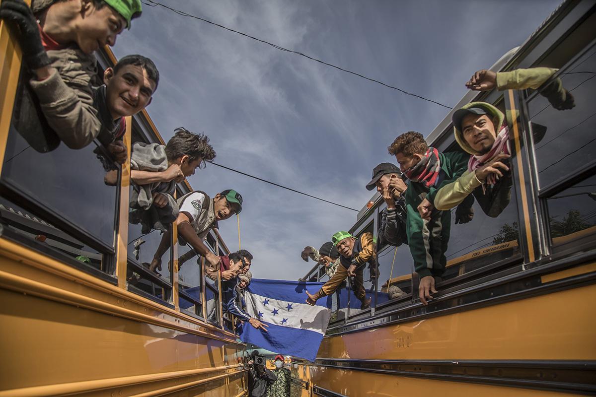 Honduras, Caravana Migrante, Chiapas, Instituto Nacional de Migración,