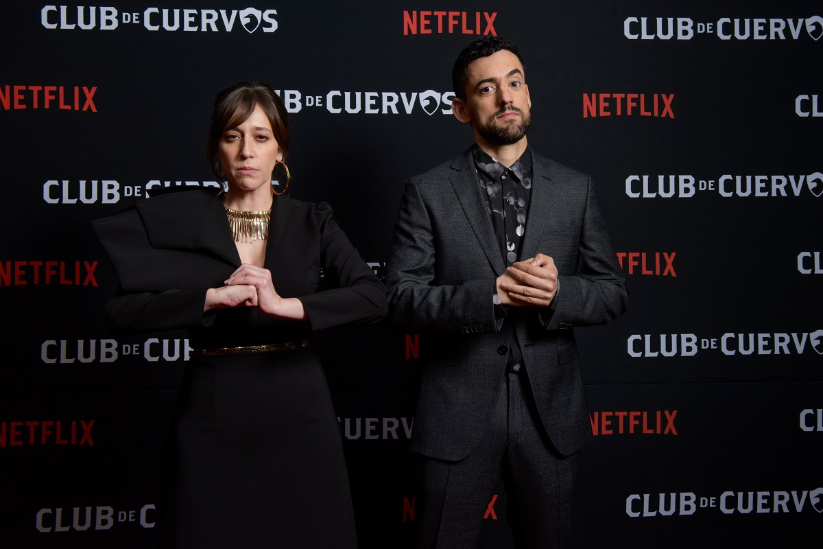 celebrates the launch of its fourth and final season, Mexico City, January 15th, 2019 // Club de Cuervos celebra el lanzamiento de su cuarta y última temporada, CDMX, 15 de enero de 2019