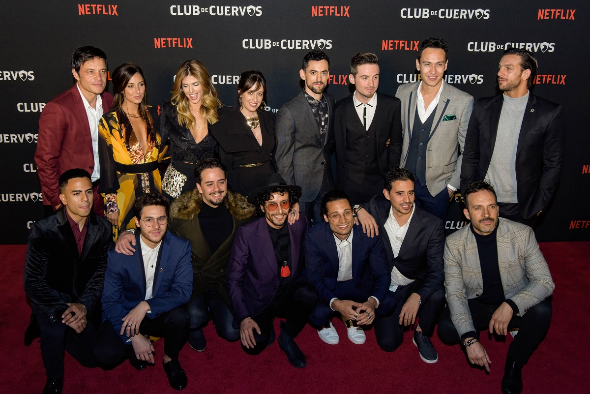 Club de Cuervos celebrates the launch of its fourth and final season, Mexico City, January 15th, 2019 // Club de Cuervos celebra el lanzamiento de su cuarta y última temporada, CDMX, 15 de enero de 2019