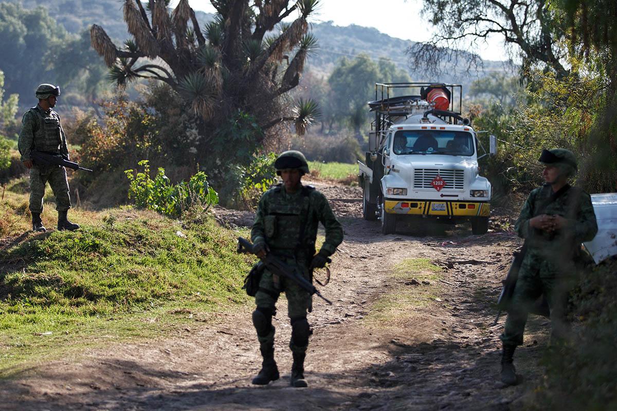Alfonso Durazo, Seguridad, Huachicoleros, Ductos,