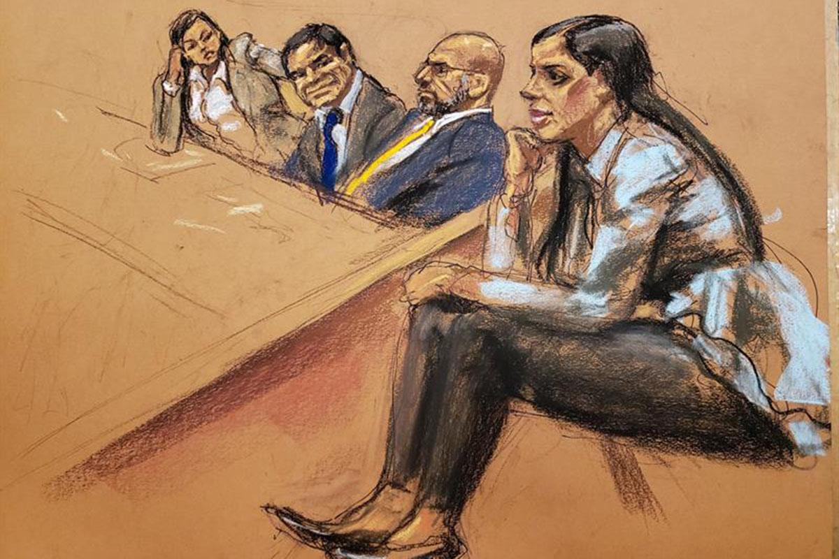 El Chapo Guzmán, Emma Coronel, Cártel de Sinaloa, Juicio, Nueva York, Narcotráfico