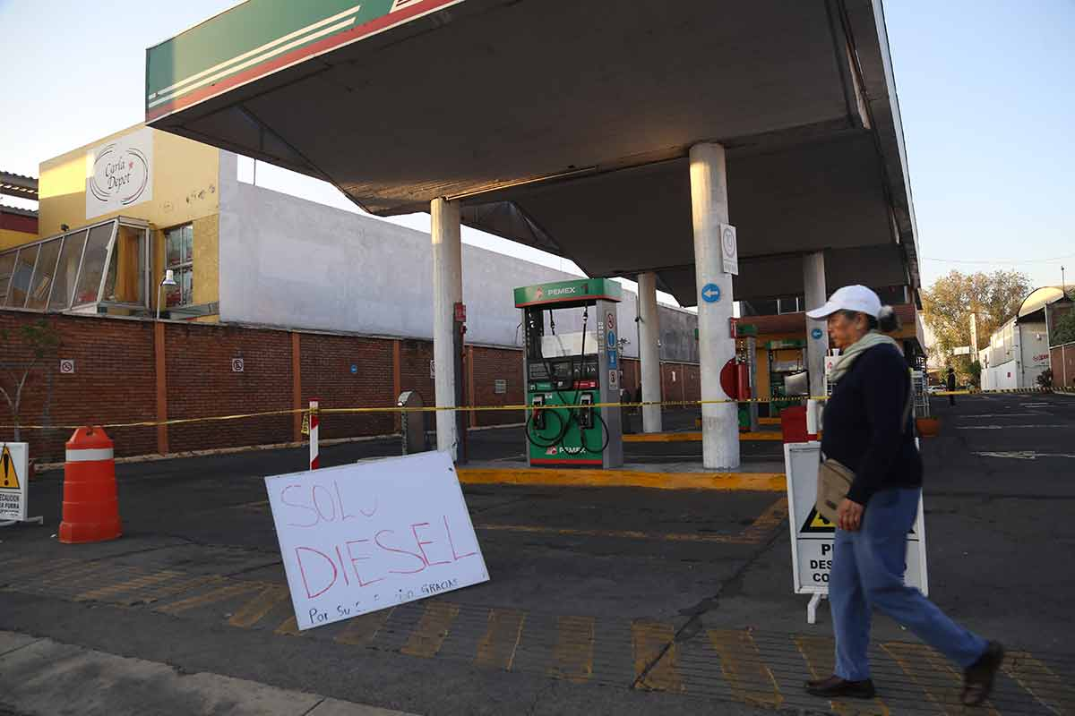 Gasolina, Pemex, gasolinera, desabasto de combustible, CDMX
