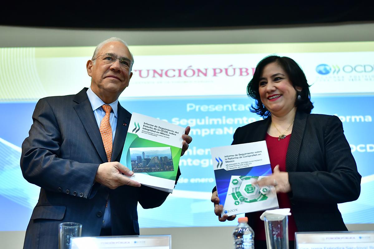 OCDE, José Angel Gurría, corrupción, Función Pública,