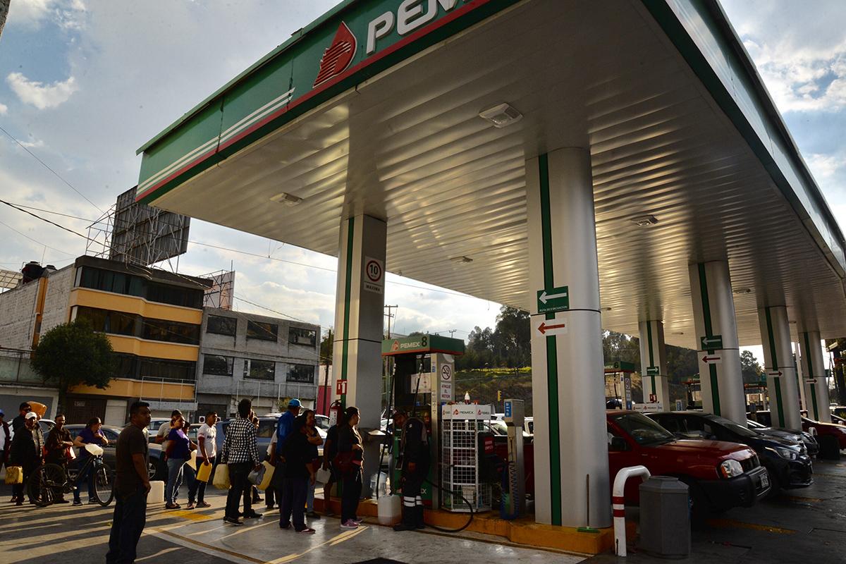 gasolina, gasolinazo, gasolinería, desabasto, Edomex,