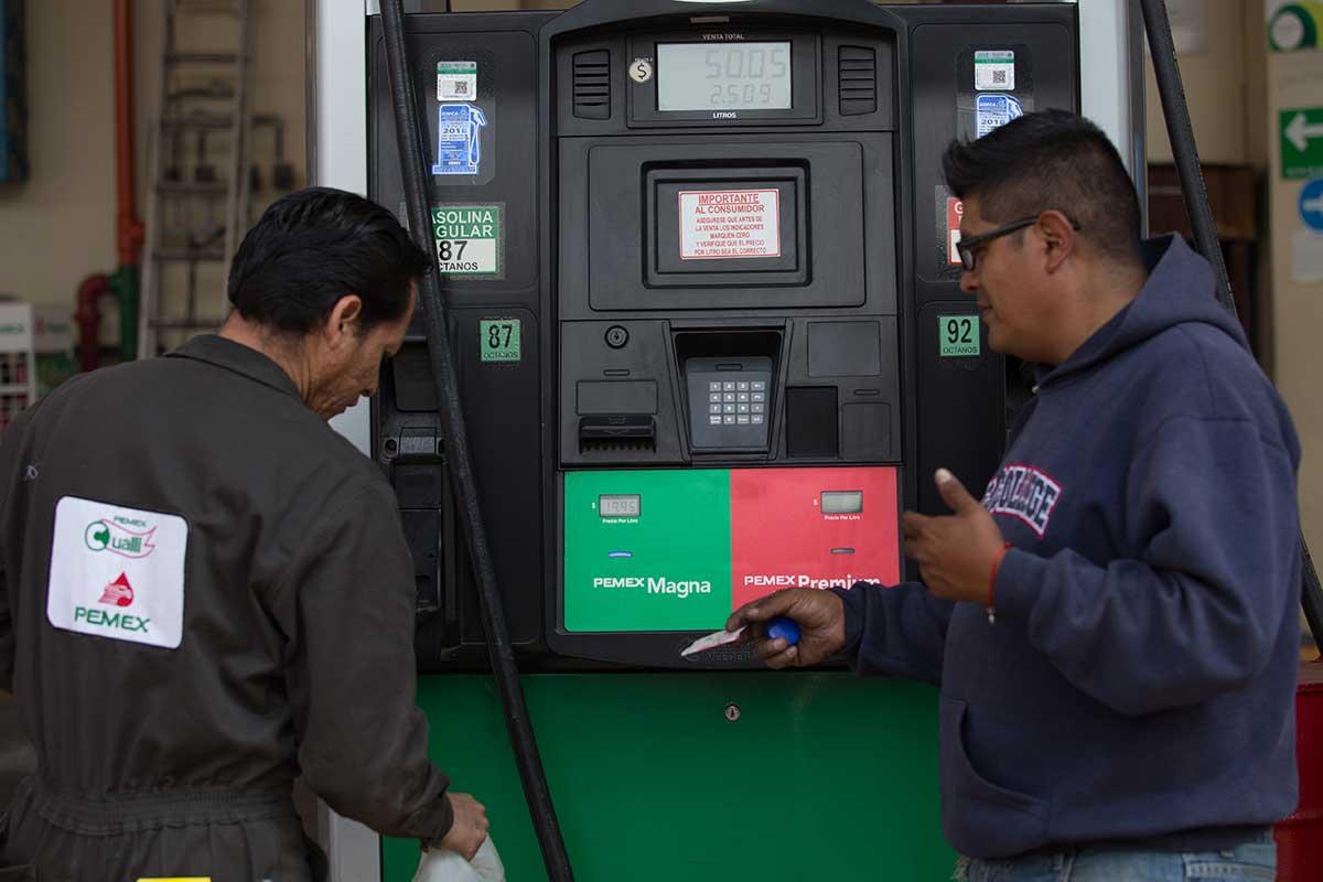 gasolina, precio, IVA