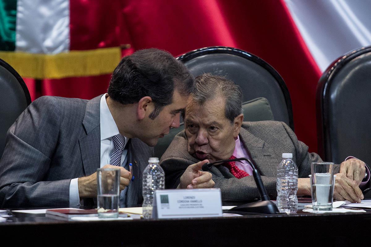 Lorenzo Córdova, INE, Cámara de Diputados, Controversia, Presupuesto, SCJN,