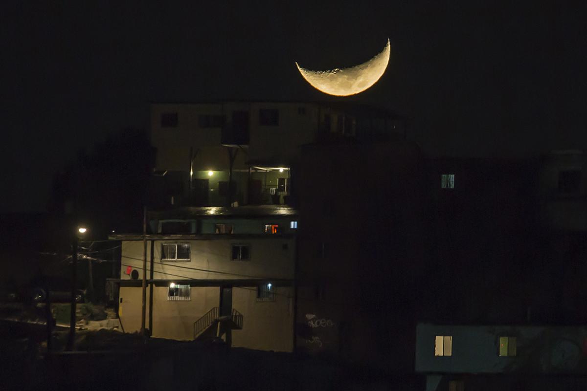 mes lunar, Luna, Tierra, órbita,
