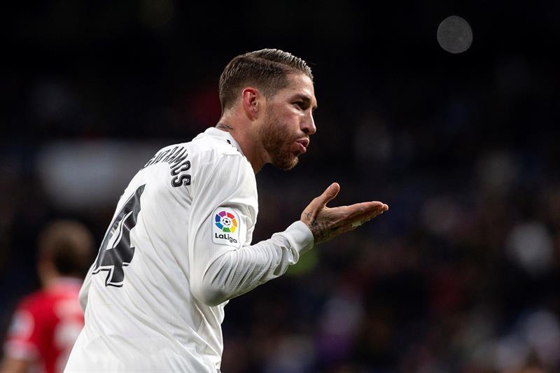 Sergio Ramo, Real Madrid, Girona, Copa del Rey