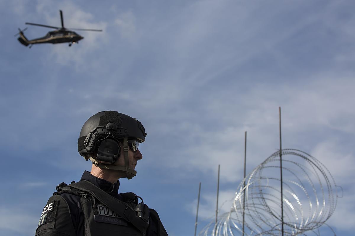 Frontera, Seguridad, Migrantes, Tropas, Militares, Muro Fronterizo,