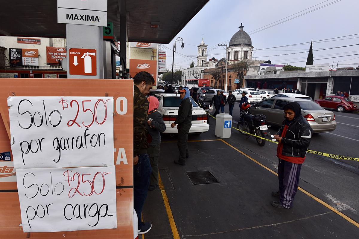 Gasolina, Gasolineras, Pemex, Desabasto, Magna, Premium, Diesel, Edomex,