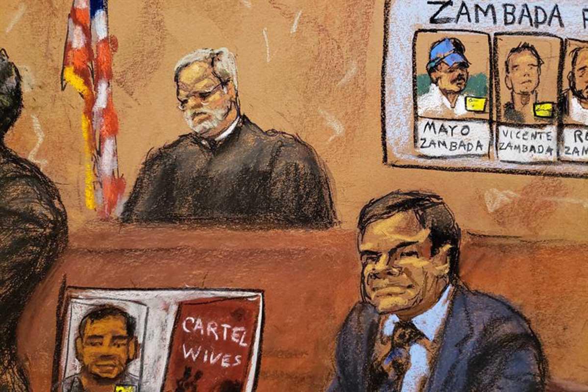 Ismael Zambada, Joaquín El Chapo Guzmán, juicio, Nueva York, narcotrafico, Cártel de Sinaloa,