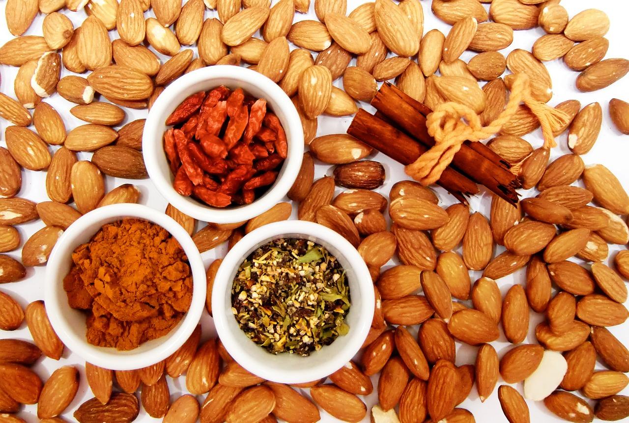frutos secos, almendras,salud