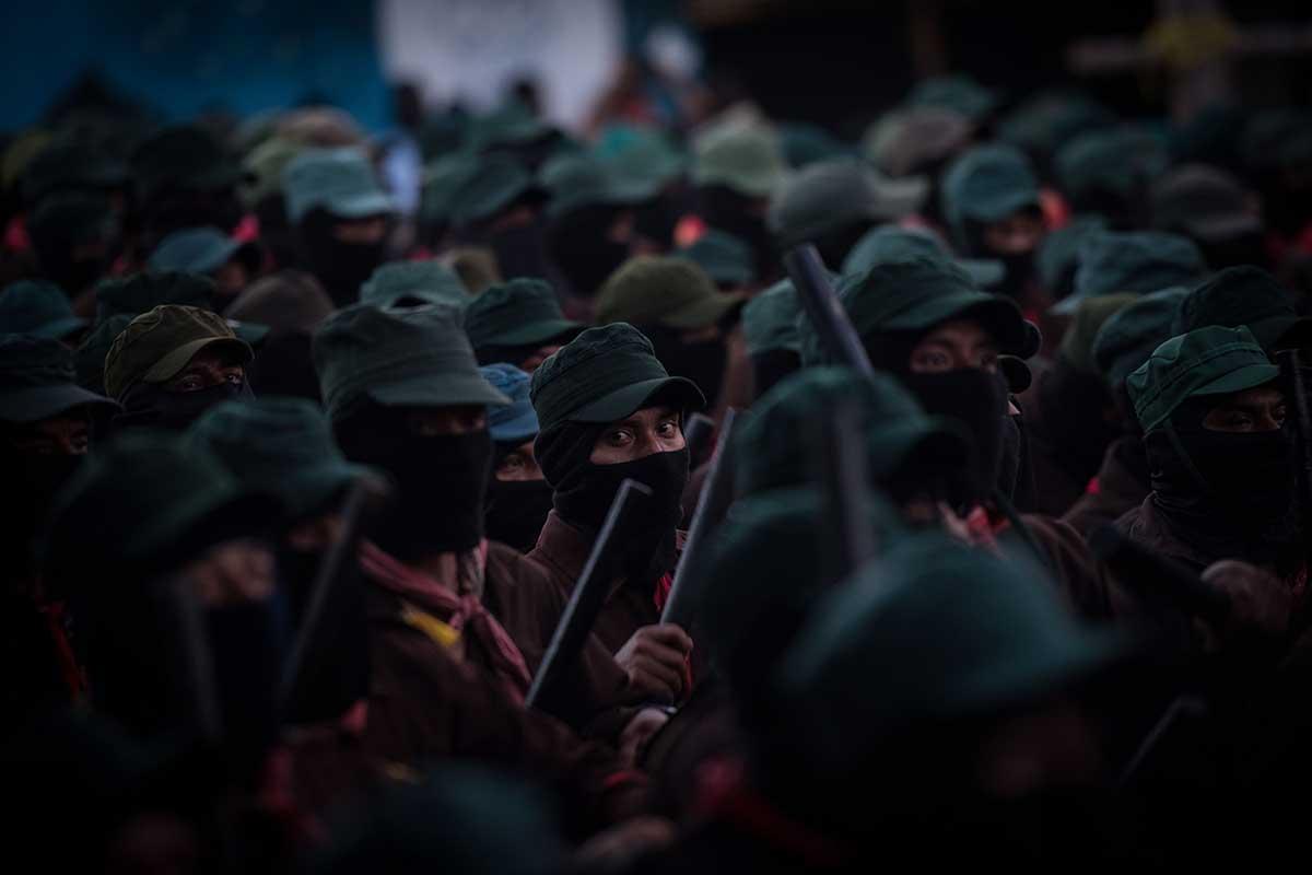 EZLN, AMLO, Tren Maya