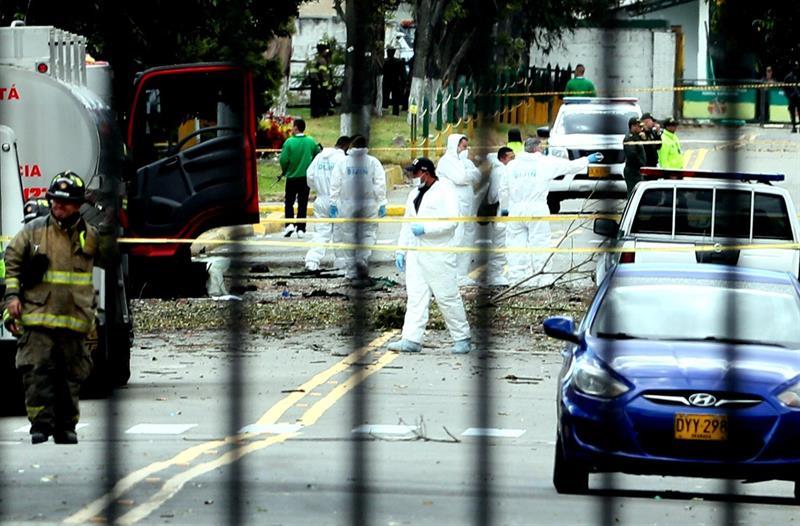 Colombia, Bogotá, atentado