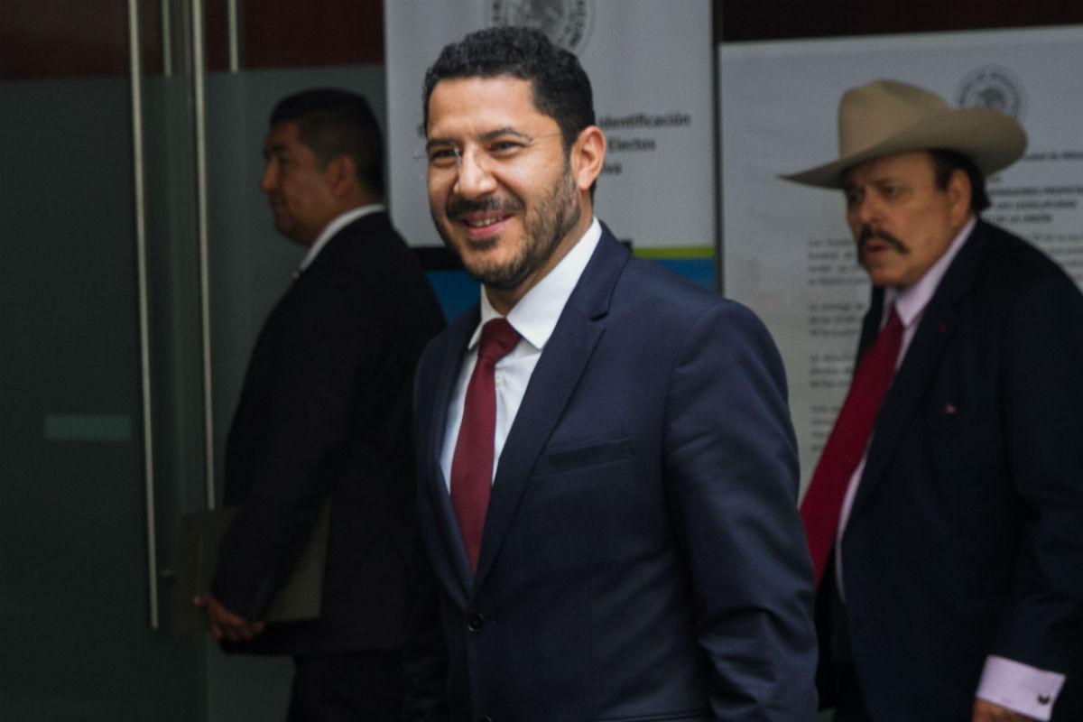 Martí Batres, presidente del Senado