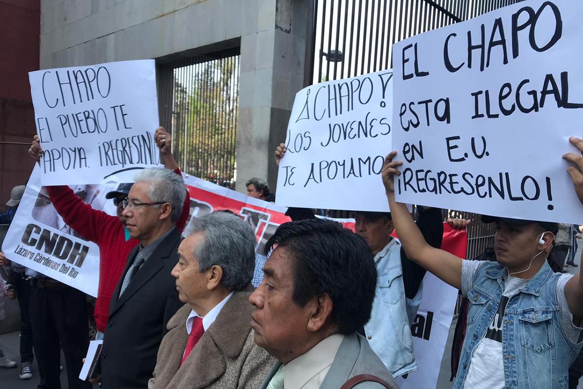 Joaquín El Chapo Guzmán, juicio, Cancillería, apoyo, Nueva York, Cártel de Sinaloa, Emma Coronel,