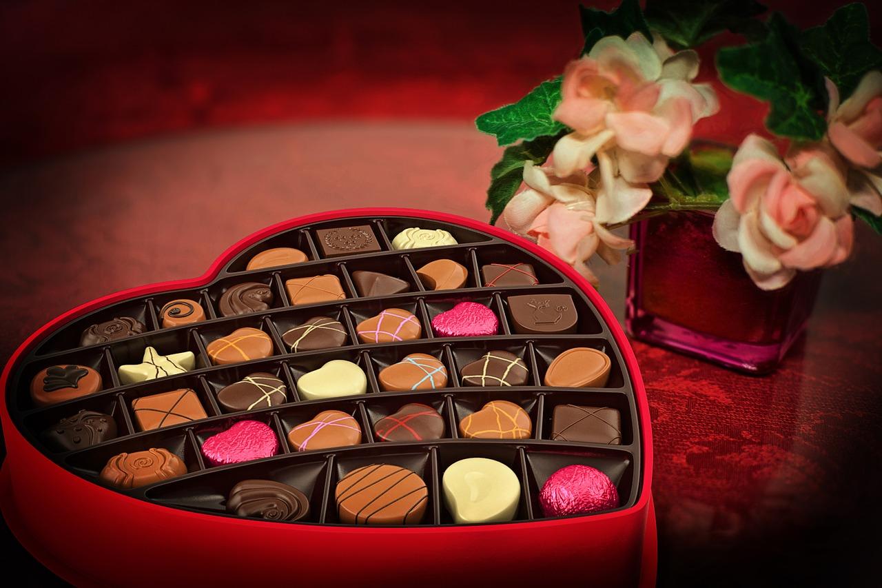 chocolates, San Valentín, regalo, finanzas personales