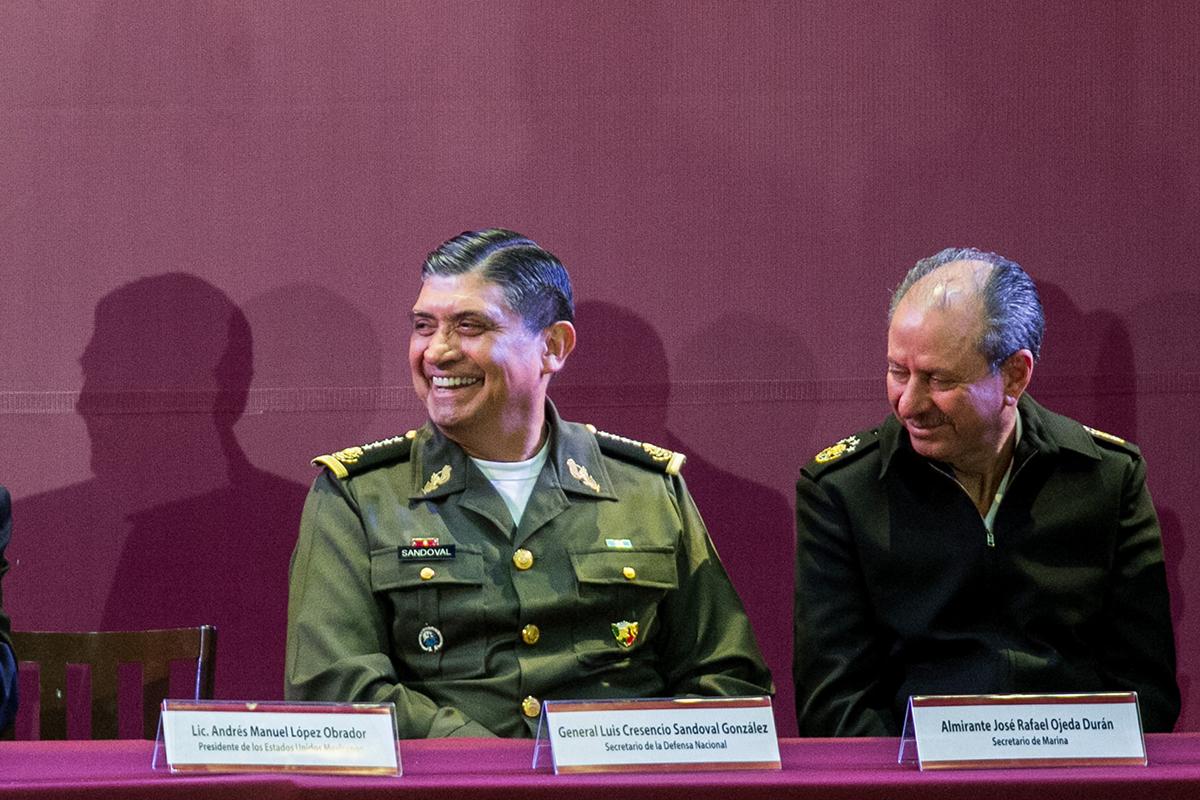 Fuerzas Armadas, Ejército, Marina, Guardia Nacional, Mando Civil,