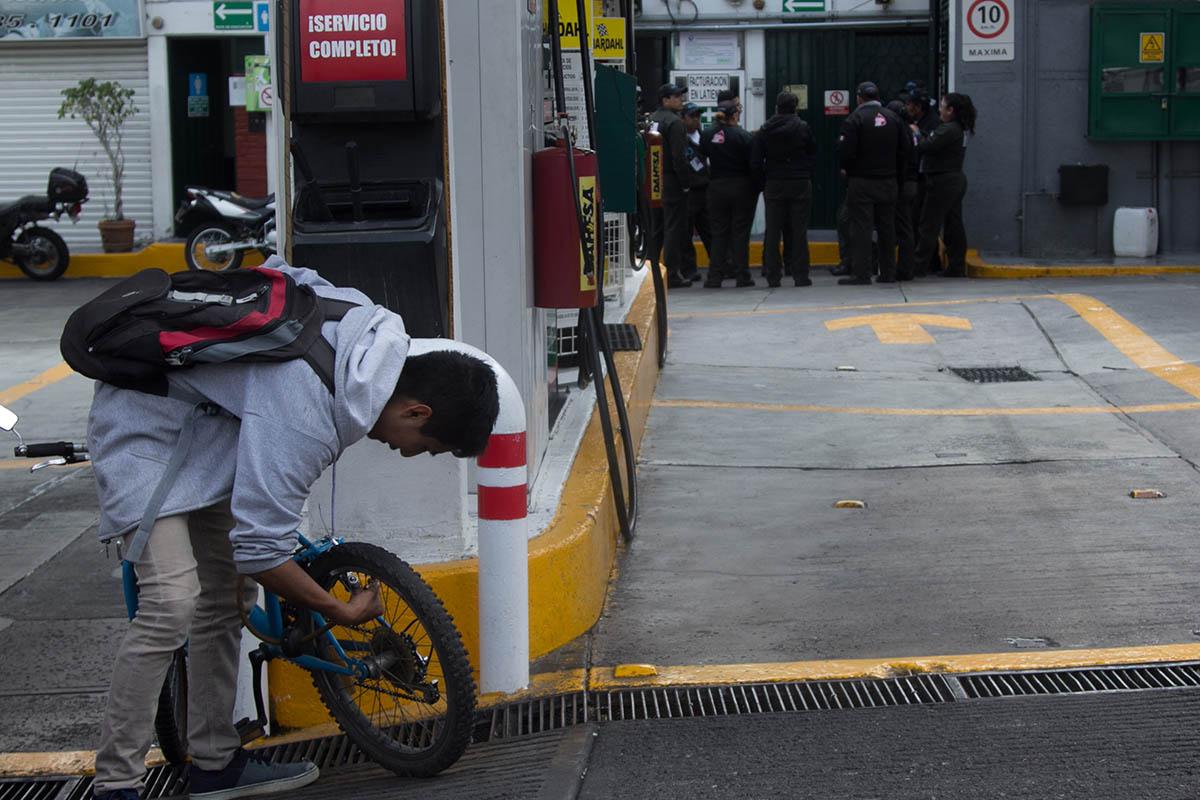 Monterrey, Nuevo León, gasolinería, gasolina, desabasto, Pemex,