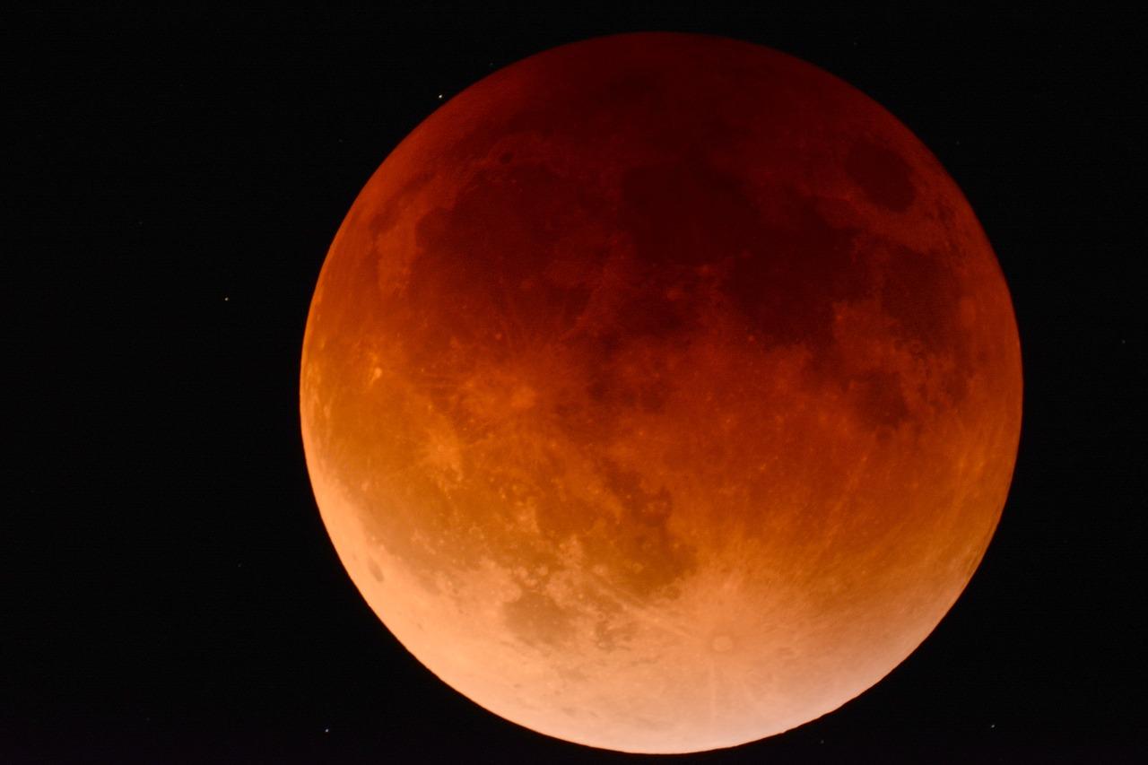 Luna, eclipse, astronomía